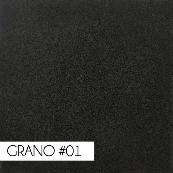 Negro Carbón Grano 1